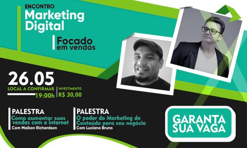Encontro de Marketing Digital Focado em Vendas
